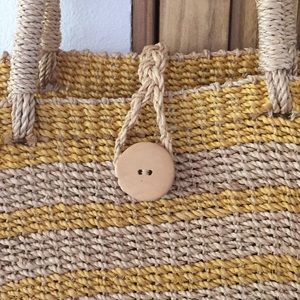 Handbags - Weaved Hemp Tote